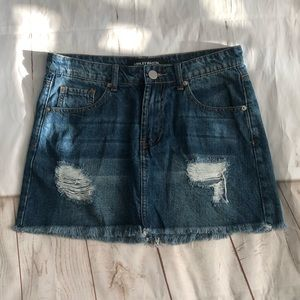 Ashley Mason Jean skirt